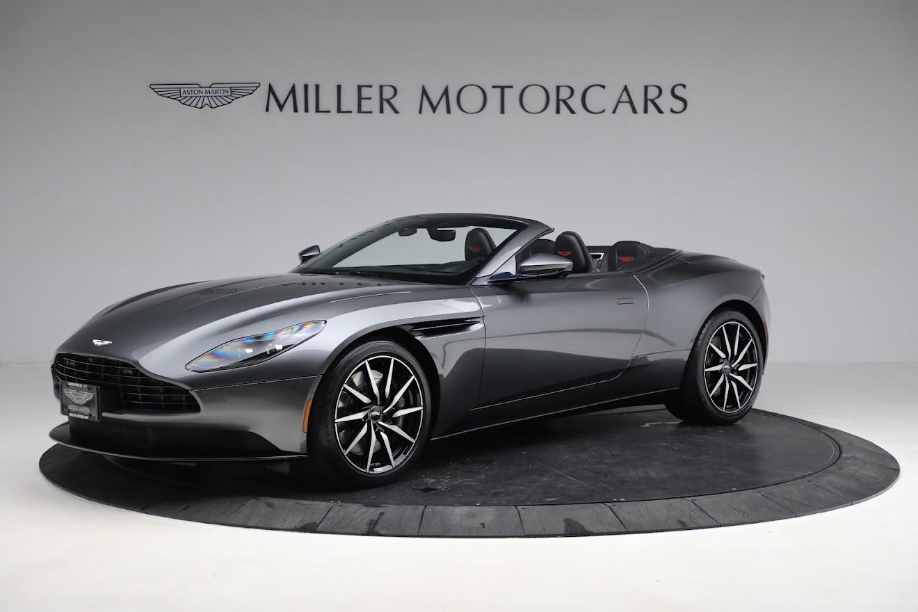 New 2020 Aston Martin DB11 Volante Convertible for sale $254,871 at Bugatti of Greenwich in Greenwich CT 06830 1