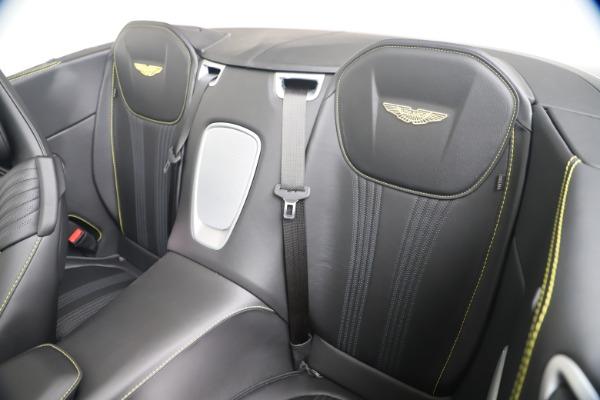 New 2020 Aston Martin DB11 Volante Convertible for sale Sold at Bugatti of Greenwich in Greenwich CT 06830 24