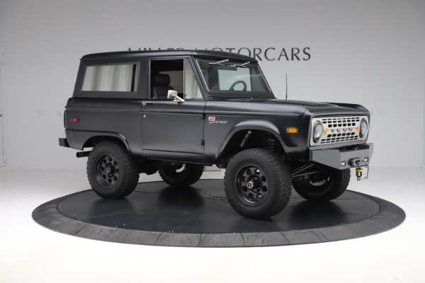 Used 1972 Ford Bronco Icon for sale Sold at Bugatti of Greenwich in Greenwich CT 06830 10