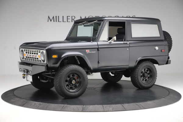 Used 1972 Ford Bronco Icon for sale Sold at Bugatti of Greenwich in Greenwich CT 06830 2
