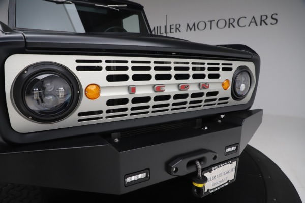 Used 1972 Ford Bronco Icon for sale Sold at Bugatti of Greenwich in Greenwich CT 06830 27