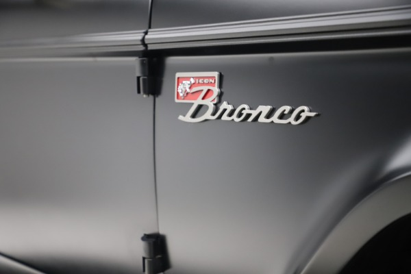 Used 1972 Ford Bronco Icon for sale Sold at Bugatti of Greenwich in Greenwich CT 06830 28