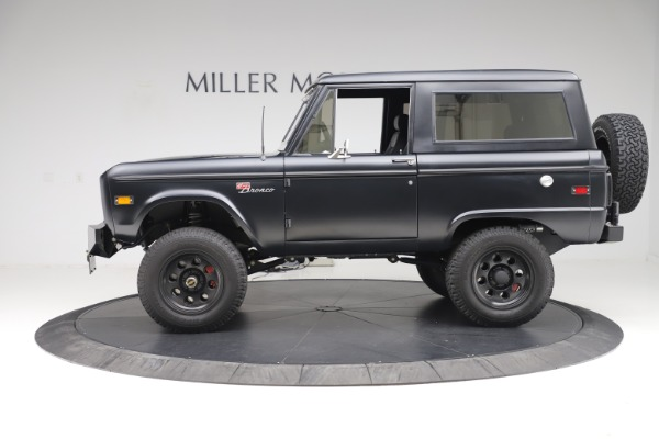 Used 1972 Ford Bronco Icon for sale Sold at Bugatti of Greenwich in Greenwich CT 06830 3