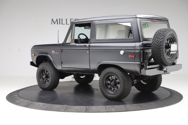 Used 1972 Ford Bronco Icon for sale Sold at Bugatti of Greenwich in Greenwich CT 06830 4