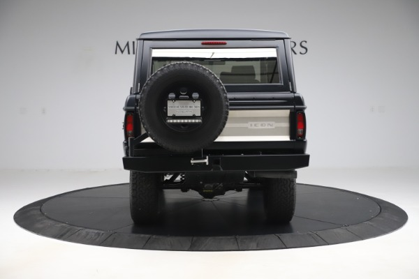 Used 1972 Ford Bronco Icon for sale Sold at Bugatti of Greenwich in Greenwich CT 06830 6