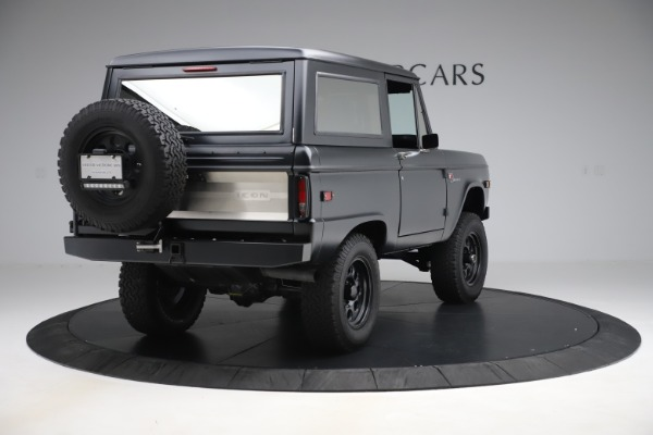 Used 1972 Ford Bronco Icon for sale Sold at Bugatti of Greenwich in Greenwich CT 06830 7