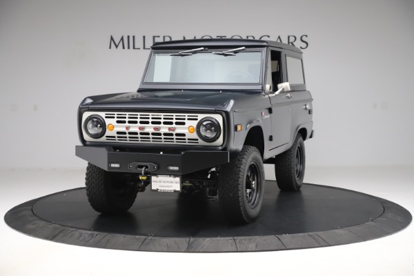 Used 1972 Ford Bronco Icon for sale Sold at Bugatti of Greenwich in Greenwich CT 06830 1