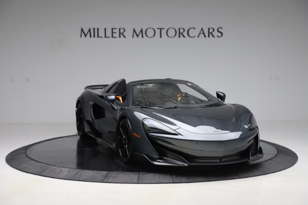 Used 2020 McLaren 600LT SPIDER Convertible for sale $249,900 at Bugatti of Greenwich in Greenwich CT 06830 10