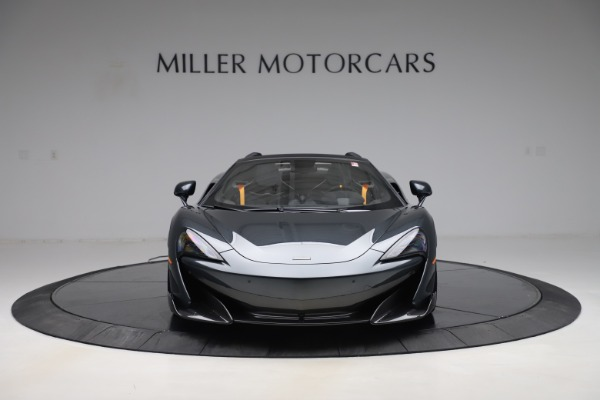 Used 2020 McLaren 600LT SPIDER Convertible for sale $249,900 at Bugatti of Greenwich in Greenwich CT 06830 11