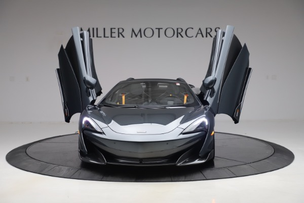 Used 2020 McLaren 600LT SPIDER Convertible for sale $249,900 at Bugatti of Greenwich in Greenwich CT 06830 12