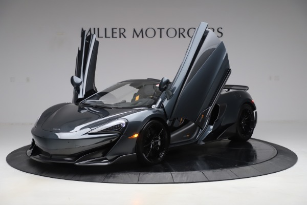 Used 2020 McLaren 600LT SPIDER Convertible for sale $249,900 at Bugatti of Greenwich in Greenwich CT 06830 13