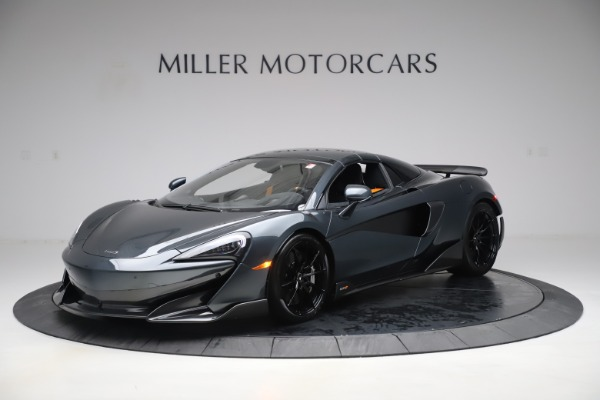 Used 2020 McLaren 600LT SPIDER Convertible for sale $249,900 at Bugatti of Greenwich in Greenwich CT 06830 14