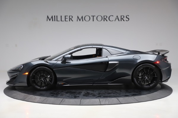 New 2020 McLaren 600LT SPIDER Convertible for sale Sold at Bugatti of Greenwich in Greenwich CT 06830 15