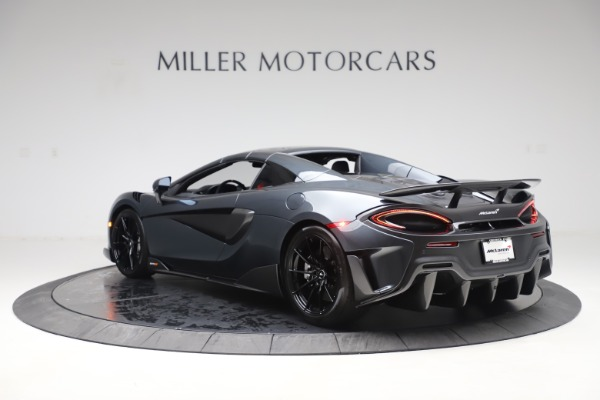 Used 2020 McLaren 600LT SPIDER Convertible for sale $249,900 at Bugatti of Greenwich in Greenwich CT 06830 16