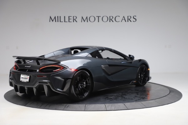 Used 2020 McLaren 600LT SPIDER Convertible for sale $249,900 at Bugatti of Greenwich in Greenwich CT 06830 18