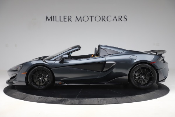 Used 2020 McLaren 600LT SPIDER Convertible for sale $249,900 at Bugatti of Greenwich in Greenwich CT 06830 2