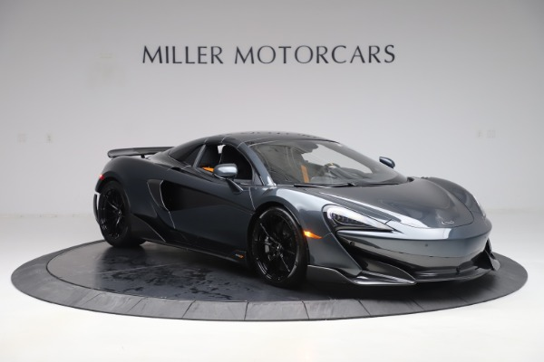 New 2020 McLaren 600LT SPIDER Convertible for sale Sold at Bugatti of Greenwich in Greenwich CT 06830 20