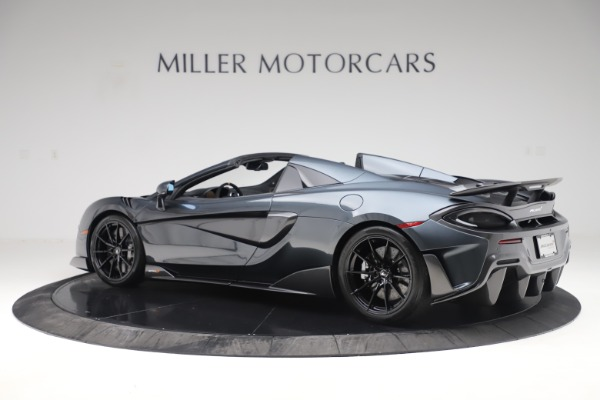 Used 2020 McLaren 600LT SPIDER Convertible for sale $249,900 at Bugatti of Greenwich in Greenwich CT 06830 3