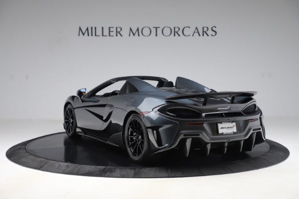 Used 2020 McLaren 600LT SPIDER Convertible for sale $249,900 at Bugatti of Greenwich in Greenwich CT 06830 4
