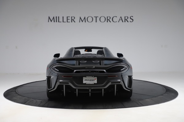 Used 2020 McLaren 600LT SPIDER Convertible for sale $249,900 at Bugatti of Greenwich in Greenwich CT 06830 5