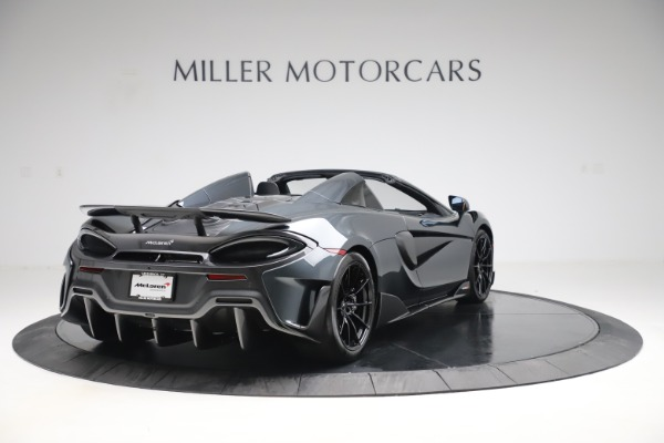 New 2020 McLaren 600LT SPIDER Convertible for sale Sold at Bugatti of Greenwich in Greenwich CT 06830 6