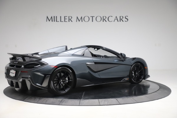 Used 2020 McLaren 600LT SPIDER Convertible for sale $249,900 at Bugatti of Greenwich in Greenwich CT 06830 7