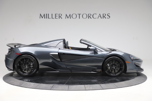 Used 2020 McLaren 600LT SPIDER Convertible for sale $249,900 at Bugatti of Greenwich in Greenwich CT 06830 8