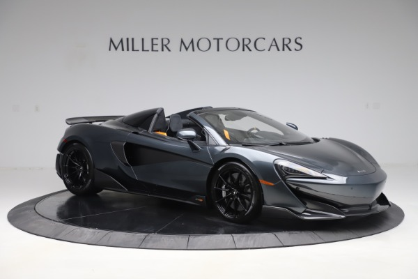 Used 2020 McLaren 600LT SPIDER Convertible for sale $249,900 at Bugatti of Greenwich in Greenwich CT 06830 9