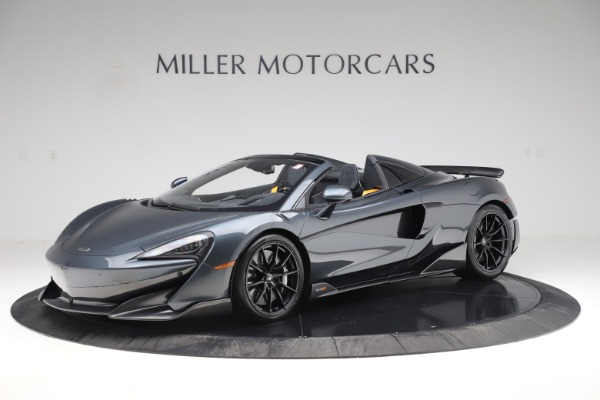 Used 2020 McLaren 600LT SPIDER Convertible for sale $249,900 at Bugatti of Greenwich in Greenwich CT 06830 1