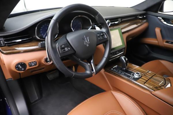 Used 2017 Maserati Quattroporte S Q4 GranLusso for sale Sold at Bugatti of Greenwich in Greenwich CT 06830 13