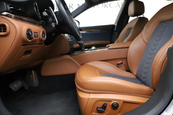 Used 2017 Maserati Quattroporte S Q4 GranLusso for sale Sold at Bugatti of Greenwich in Greenwich CT 06830 14