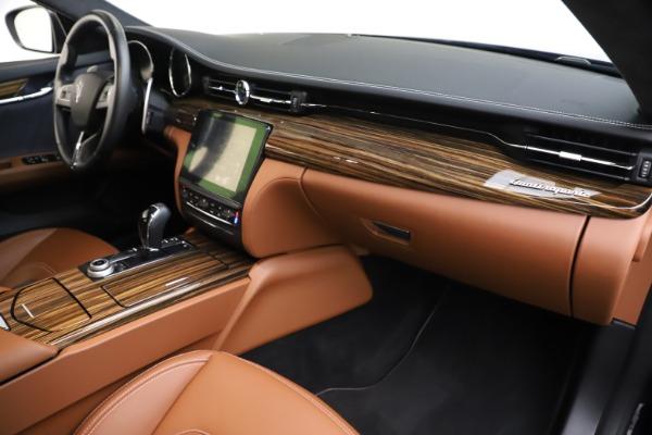 Used 2017 Maserati Quattroporte S Q4 GranLusso for sale Sold at Bugatti of Greenwich in Greenwich CT 06830 22