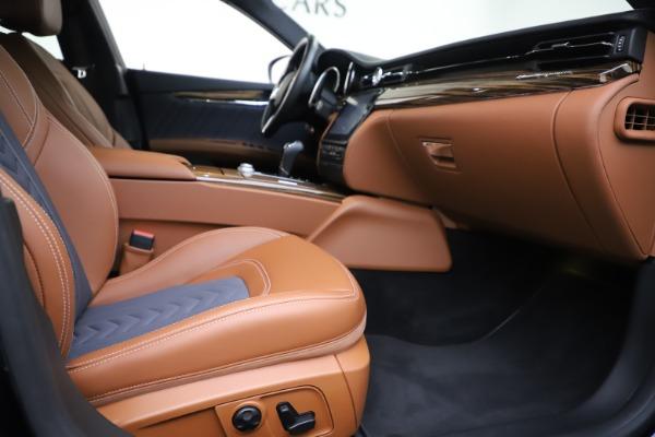 Used 2017 Maserati Quattroporte S Q4 GranLusso for sale Sold at Bugatti of Greenwich in Greenwich CT 06830 23