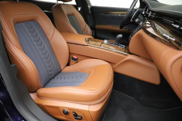 Used 2017 Maserati Quattroporte S Q4 GranLusso for sale Sold at Bugatti of Greenwich in Greenwich CT 06830 24