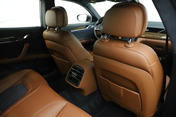 Used 2017 Maserati Quattroporte S Q4 GranLusso for sale Sold at Bugatti of Greenwich in Greenwich CT 06830 28