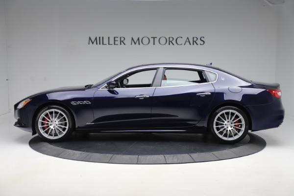 Used 2017 Maserati Quattroporte S Q4 GranLusso for sale Sold at Bugatti of Greenwich in Greenwich CT 06830 3