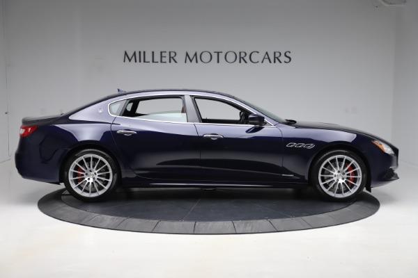Used 2017 Maserati Quattroporte S Q4 GranLusso for sale Sold at Bugatti of Greenwich in Greenwich CT 06830 9