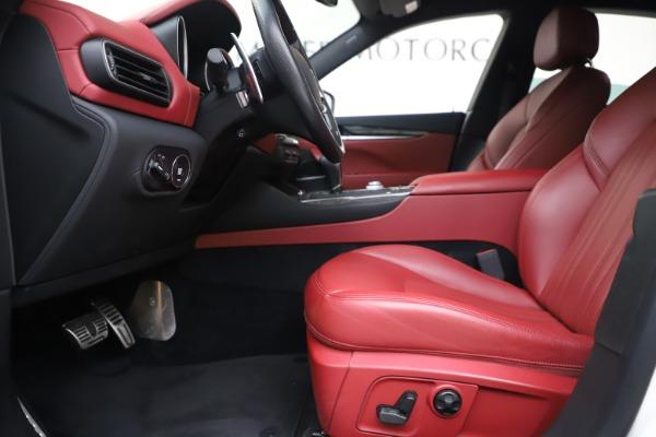 Used 2017 Maserati Levante S for sale Sold at Bugatti of Greenwich in Greenwich CT 06830 14