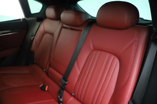 Used 2017 Maserati Levante S for sale Sold at Bugatti of Greenwich in Greenwich CT 06830 18