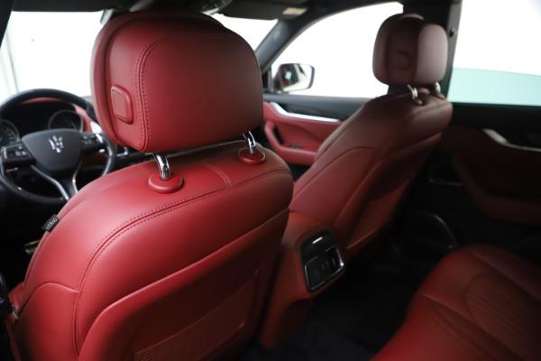 Used 2017 Maserati Levante S for sale Sold at Bugatti of Greenwich in Greenwich CT 06830 20