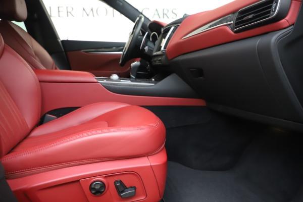 Used 2017 Maserati Levante S for sale Sold at Bugatti of Greenwich in Greenwich CT 06830 23