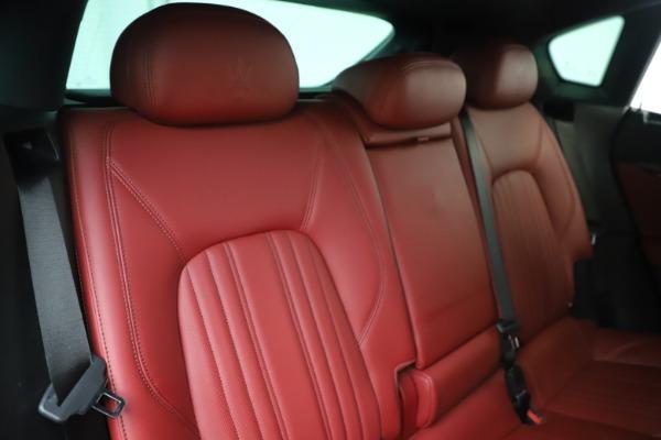 Used 2017 Maserati Levante S for sale Sold at Bugatti of Greenwich in Greenwich CT 06830 26