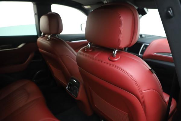 Used 2017 Maserati Levante S for sale Sold at Bugatti of Greenwich in Greenwich CT 06830 28