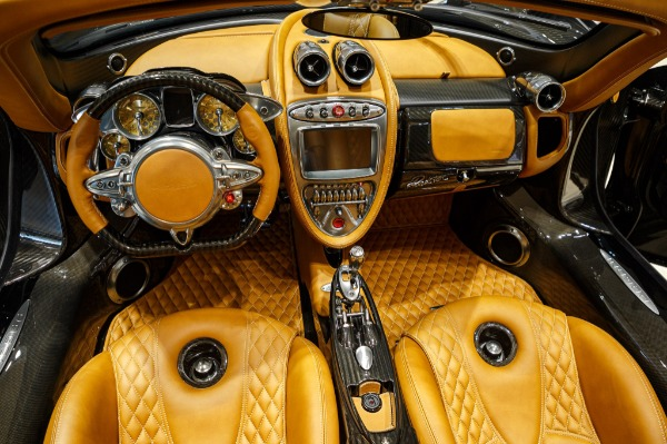 Used 2017 Pagani Huayra Roadster Roadster for sale Call for price at Bugatti of Greenwich in Greenwich CT 06830 12