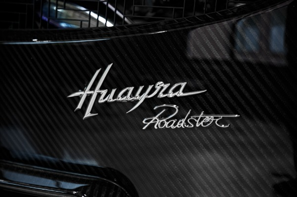 Used 2017 Pagani Huayra Roadster Roadster for sale Call for price at Bugatti of Greenwich in Greenwich CT 06830 25