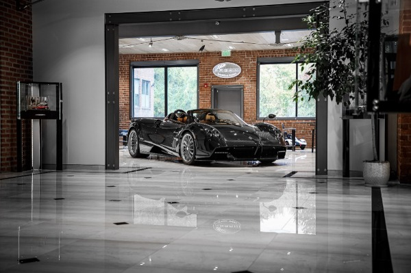 Used 2017 Pagani Huayra Roadster Roadster for sale Call for price at Bugatti of Greenwich in Greenwich CT 06830 4