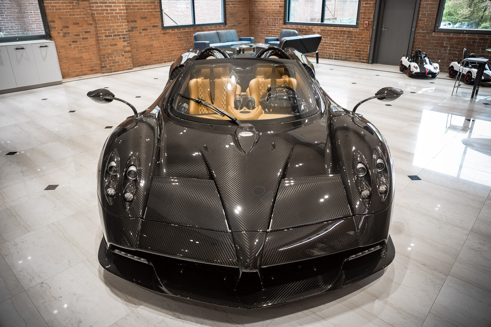 Used 2017 Pagani Huayra Roadster Roadster for sale Call for price at Bugatti of Greenwich in Greenwich CT 06830 1
