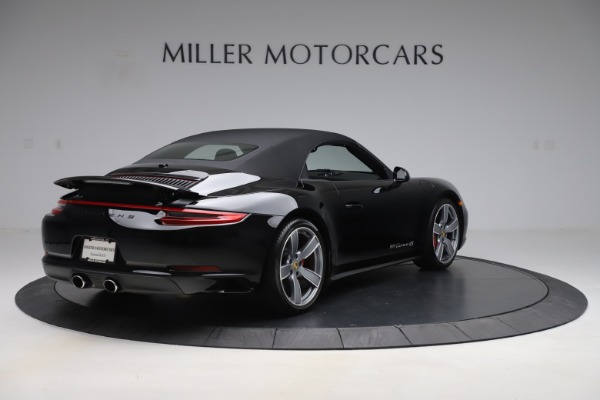Used 2017 Porsche 911 Carrera 4S for sale Sold at Bugatti of Greenwich in Greenwich CT 06830 16