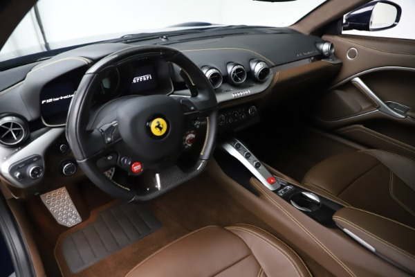 Used 2017 Ferrari F12 Berlinetta Base for sale Sold at Bugatti of Greenwich in Greenwich CT 06830 13