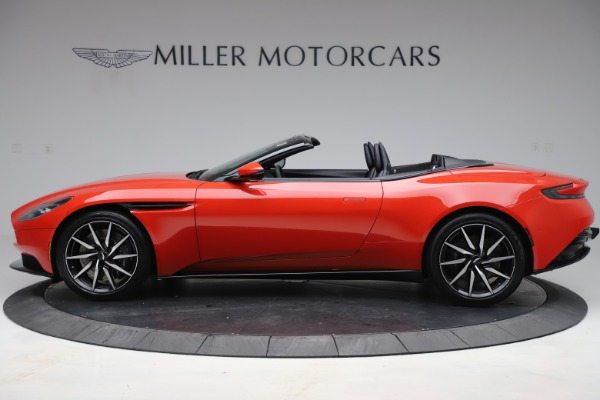 New 2020 Aston Martin DB11 Volante Convertible for sale $254,531 at Bugatti of Greenwich in Greenwich CT 06830 2
